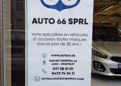 Auto 66 à Châtelet